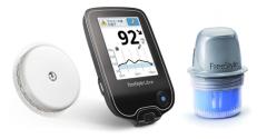新しい血糖測定機